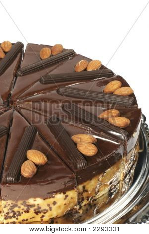 Almond Cake With Chocolate
