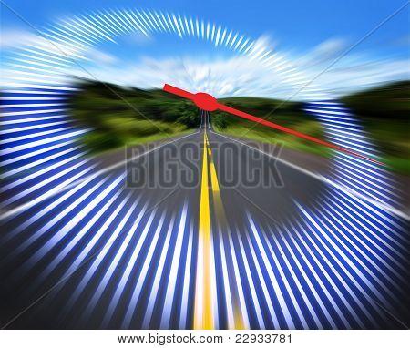 Speedometer Highway