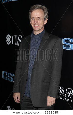 LOS ANGELES - NOV 1: Robert Joy  at the CSI NY 100th episode party at the Edison Downtown, Los Angeles, California on November 1, 2008