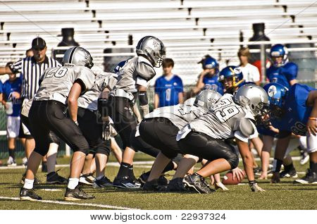 Little League Football, Line Of Scrimmage