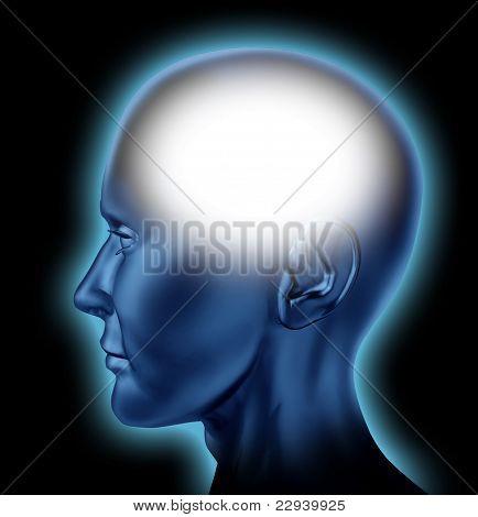 Blank Human Head