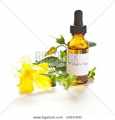 St. John's Wort Tincture Or Extraction