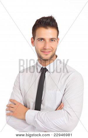 Good looking businessman