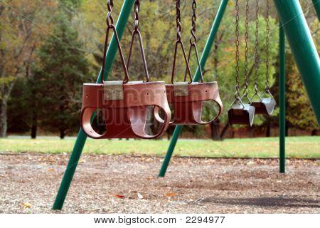 Empty Swingset