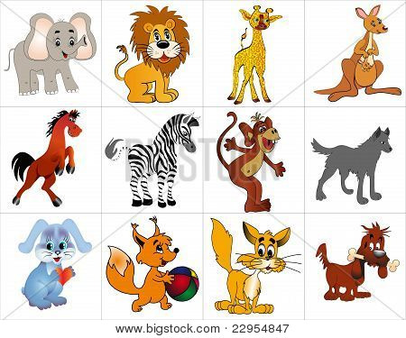 Kit Merry Decorative Animals