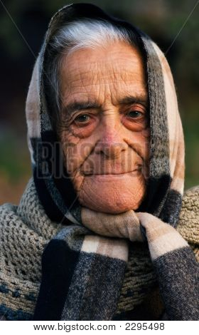 Old Lady Of Greece