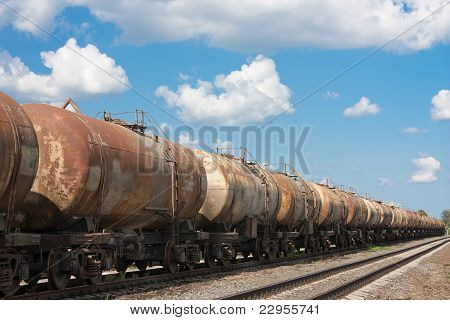 Old Railway Tanks