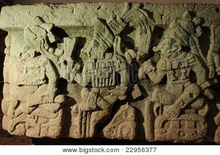 Copan Museum In Central America