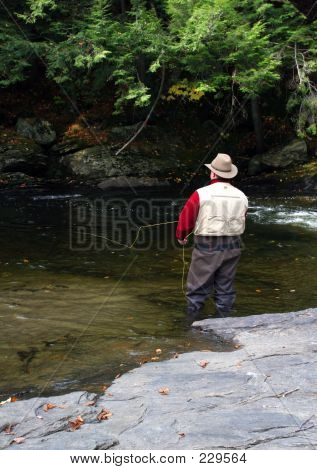 Flyfishing In Vermont