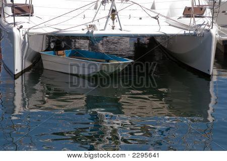 Catamarán y vela ligera