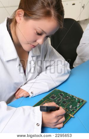 Women Technician