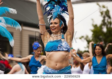 Dancer In Fremont Solstice Parade
