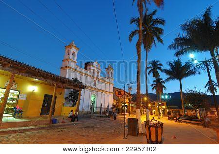 Afternoon Copan In Honduras