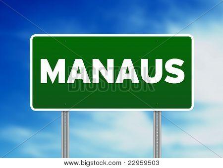 Green Road Sign - Manaus, Brazil