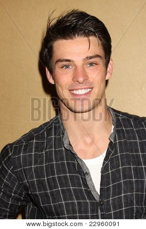 LOS ANGELES - AUG 27:  Adam Gregory attending the Bold & The Beautiful Fan Event 2011 at the Universal Sheraton Hotel on August 27, 2011 in Los Angeles, CA