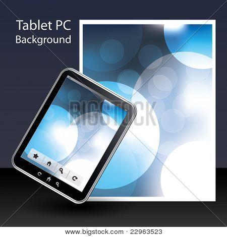 Fondo de Tablet PC