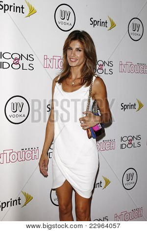 WEST HOLLYWOOD - AUG 28: Elisabetta Canalis at the 4th annual Icons & Idols party at the Sunset Tower Hotel in West Hollywood, California on August 28, 2011