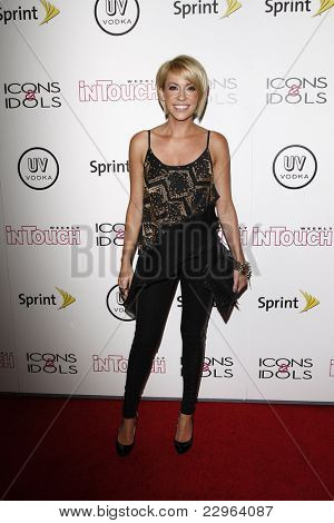 WEST HOLLYWOOD - AUG 28: Farah Fath at the 4th annual Icons & Idols party at the Sunset Tower Hotel in West Hollywood, California on August 28, 2011