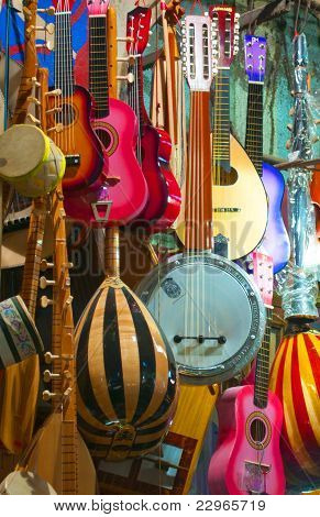 Acoustic Strings and Other Things