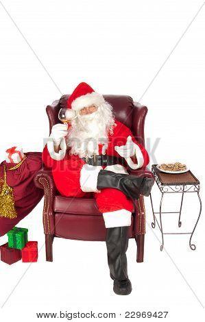 Santa at rest