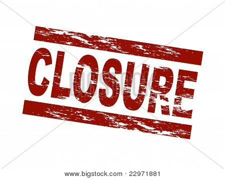 Stamp - closure