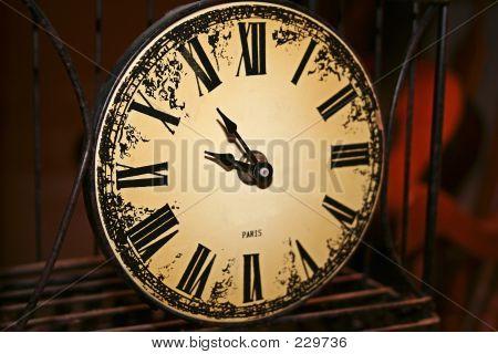 Parisian Clock