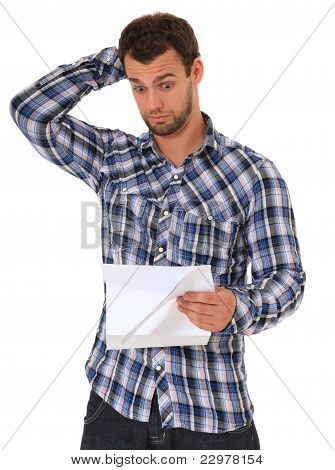 Brief der Verweigerung