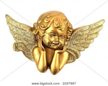 Isolierte kleine Engel