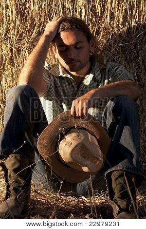 Tired Farmer