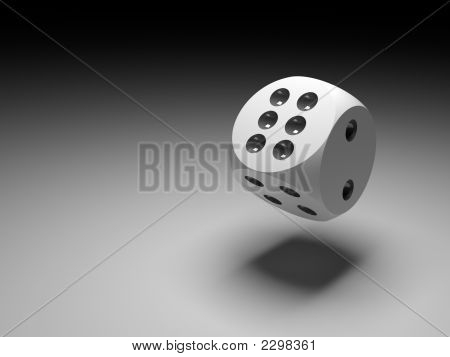 Dice In Black