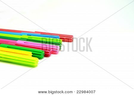 Colorful Pens.