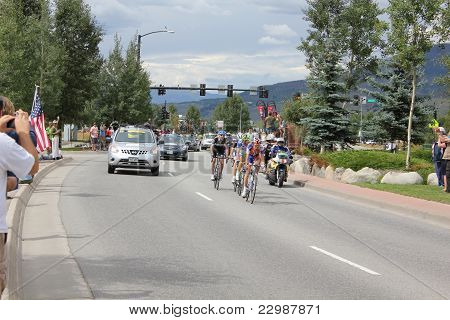 USA PRO Cycling Challenge Stage 5 cyclists race