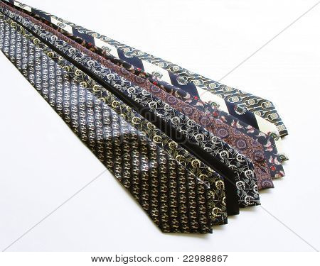 Small variety of ties