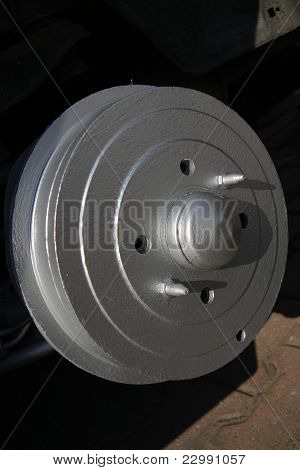 Brake drum after renovation