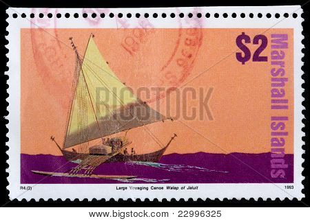 A 2-dollar Stamp Printed In The Republic Of The Marshall Islands