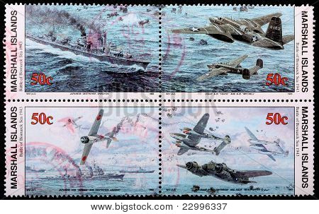 Panel Of Four, 50-cent Stamps Printed In The Republic Of The Marshall Islands