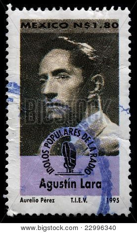 A 1.80-peso Stamp Printed In Mexico