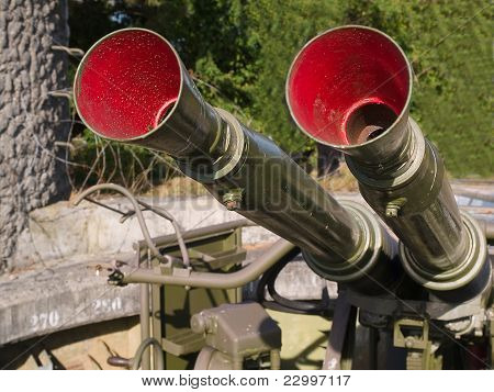 Military Anti Aircraft Gun