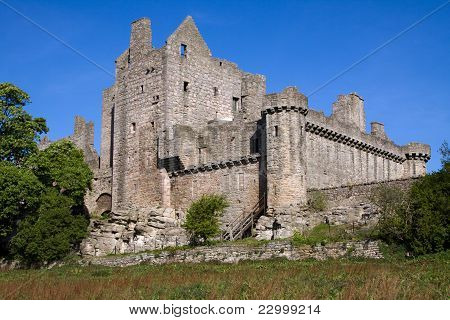Craigmillar Castle in Edinburgh
