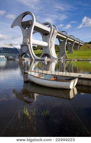 Falkirk Wheel Boat Lift
