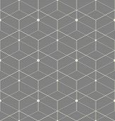 The Geometric Pattern With Lines. Seamless Vector Background. Grey Texture. Graphic Modern Pattern poster