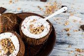 Healthy Breakfast Bowl. poster