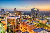 Orlando, Florida, USA downtown cityscape at dusk. poster