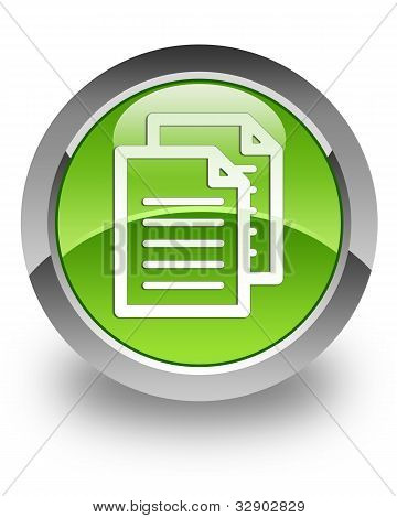 Documents glossy icon