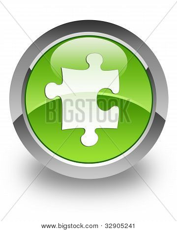 Plugin / Puzzle icono brillante