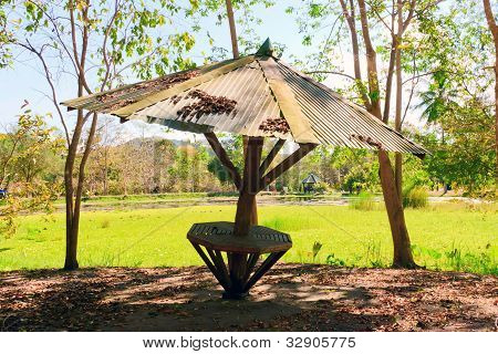 Pavilhão de estilo tailandês