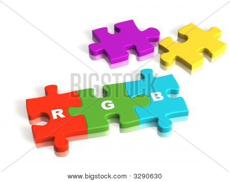 Conceptual Image - A Palette Rgb