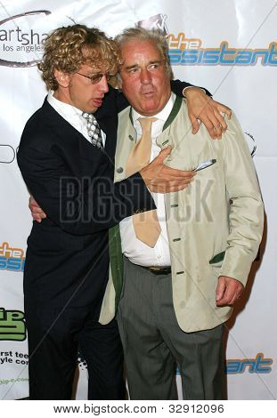 """LOS ANGELES - JULY 21: Andy Dick, Clement von Franckenstein at """"The Assistant"""" - Party for the launch of the new MTV series at Bliss on July 21, 2004 in Los Angeles, California"""