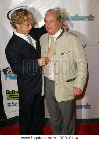 "LOS ANGELES - JULY 21: Andy Dick, Clement von Franckenstein at ""The Assistant"" - Party for the launch of the new MTV series at Bliss on July 21, 2004 in Los Angeles, California"