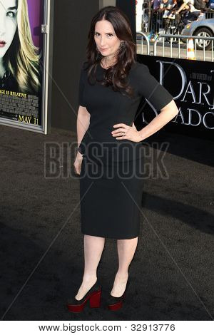 HOLLYWOOD, CA. - MAY 7: Rona Pfeiffer arrives at Warner Bros. Pictures World Premiere of 'Dark Shadows' on May 7, 2012 at Graumans Chinese Theatre in Hollywood, Ca.